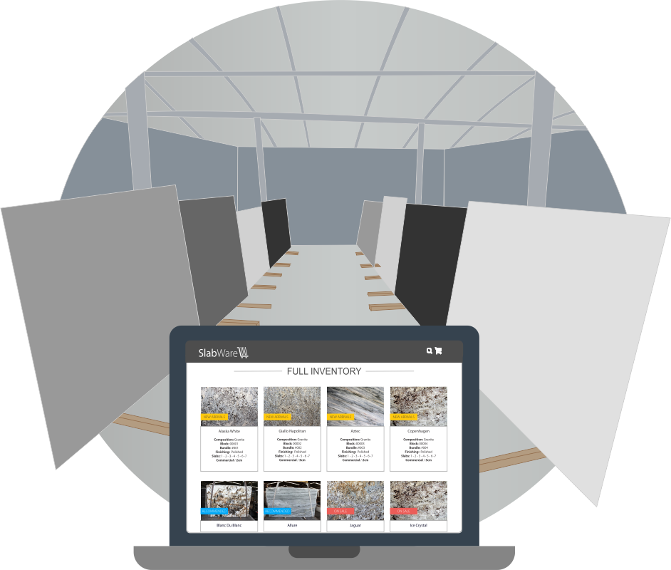 SlabWare - Slab Management System for Fabricators, Distributors and